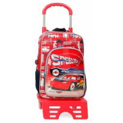 Mochila Escolar Cars Speed...