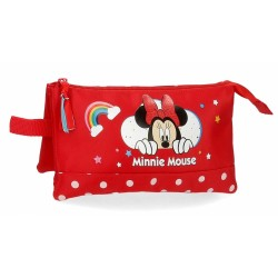 Estuche Minnie Rainbow tres...