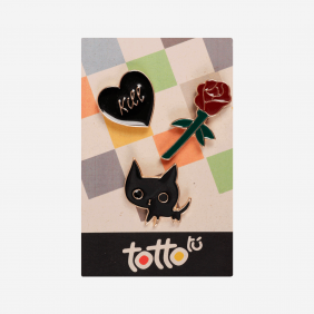 Pack pins - Gato