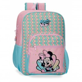 Mochila Minnie Mermaid 38cm