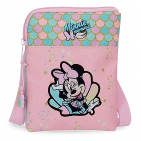 Bandolera Minnie Mermaid plana