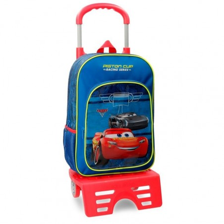 Mochila con carro Cars Racing Series 40cm