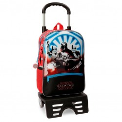 Mochila con carro Star Wars The Last Jedi 38cm