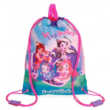 Mochila saca Enchantimals Fur Ever Besties
