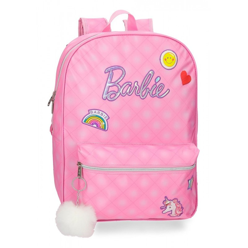 Mochila Barbie Fashion 42cm adaptable