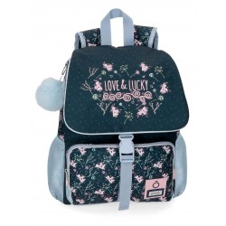 Mochila Enso Love & Lucky 38cm adaptable
