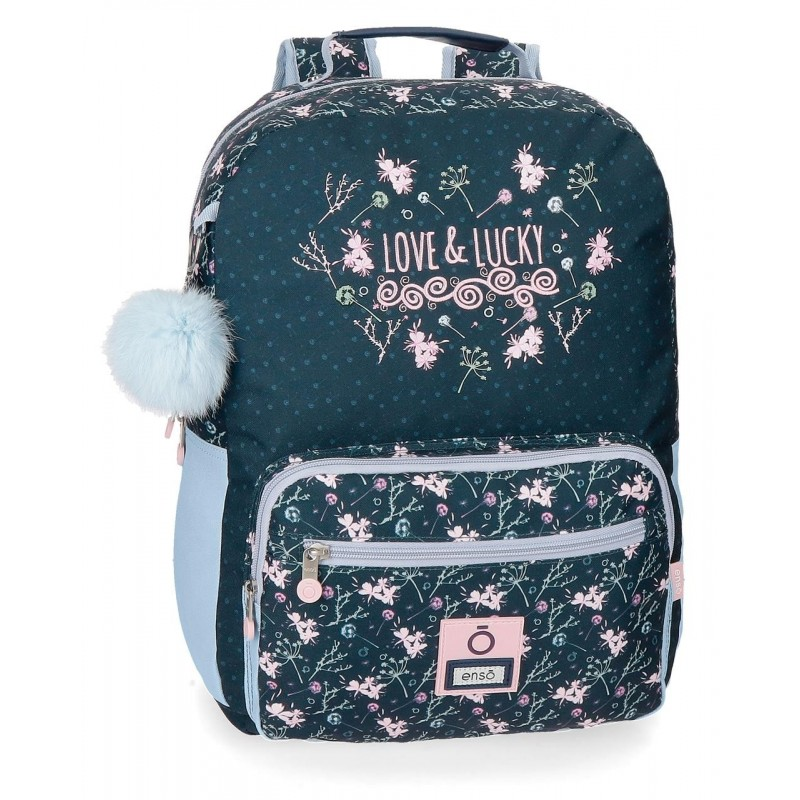 Mochila Enso Love & Lucky 44cm adaptable