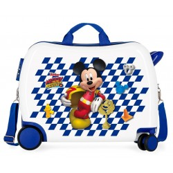 Maleta correpasillos Mickey Good Mood 2 ruedas giratorias + Regalo
