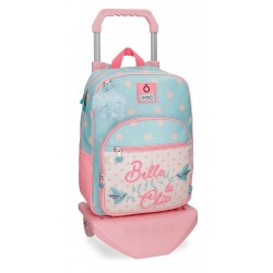 Mochila con carro Enso Belle and Chic 38cm