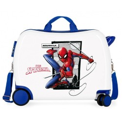 Maleta correpasillos Spiderman Action 2 ruedas giratorias + Regalo