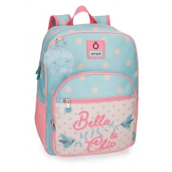 Mochila escolar Enso Belle and Chic 38cm