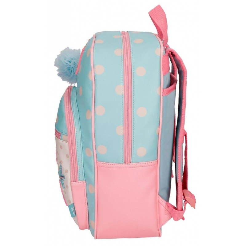 Mochila escolar Enso Belle and Chic 38cm adaptable a carro