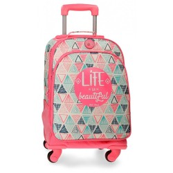 Mochila trolley Roll Road Life 4 ruedas