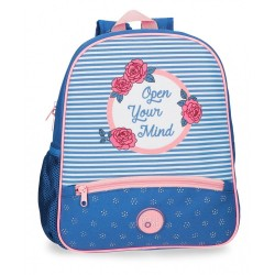 Mochila Roll Road Rose 33cm