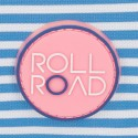 Neceser Roll Road Rose doble compartimento adaptable a trolley