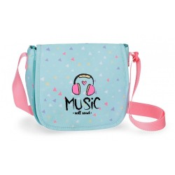 Bandolera Roll Road Music con solapa