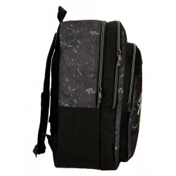 Mochila escolar Roll Road California doble compartimento 42cm