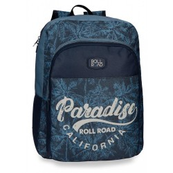 Mochila escolar Roll Road Palm 40cm adaptable a carro