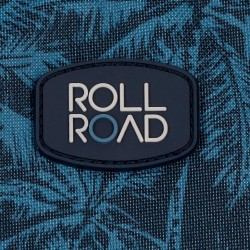 Mochila escolar Roll Road Palm 40cm con carro