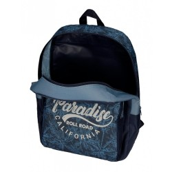 Mochila escolar Roll Road Palm 44cm adaptable a carro