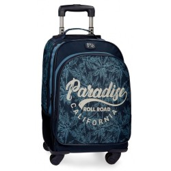 Mochila trolley Roll Road Palm 4 ruedas