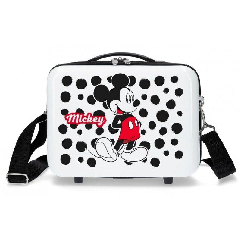 Neceser adaptable a trolley Mickey Enjoy the Day Dots