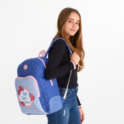Mochila escolar Roll Road Rose 44cm