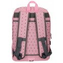 Mochila 44 cm doble cremallera adaptable a carro Pepe Jeans Molly rosa