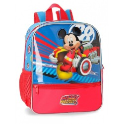 Mochila Mickey World 28cm adaptable