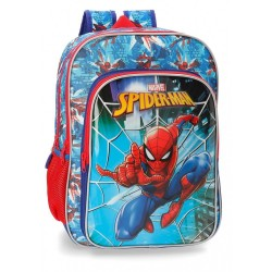 Mochila doble compartimento adaptable a carro Spiderman Street