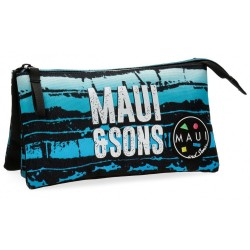 Estuche triple Maui Waves