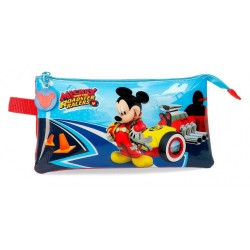 Estuche triple Mickey Lets Roll