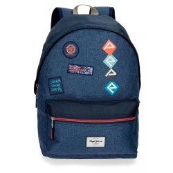 Mochila Pepe Jeans Paul 42cm adaptable