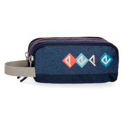 Estuche triple Pepe Jeans Paul
