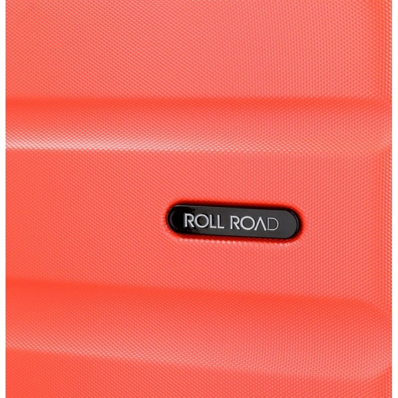 Maleta mediana Roll Road Flex Coral