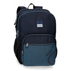 Mochila Blue doble compartimento 44cm