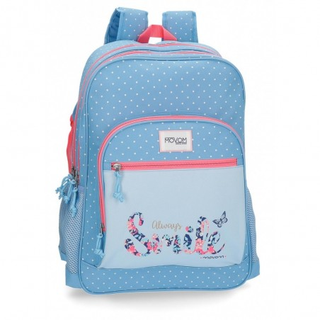 Mochila Movom Always Smile 45cm 2 compartimentos
