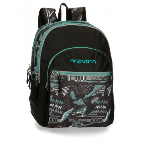 Mochila  Movom Arrow 44cm 2 compartimentos adaptable