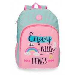 Mochila escolar Roll Road Little Things 44cm adaptable a carro