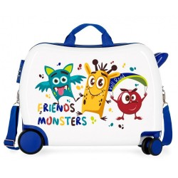 Maleta correpasillos 2 ruedas multidireccionales Little Me Friends