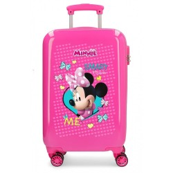 Maleta de cabina Rígida 55cm Minnie Happy Helpers