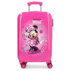 Maleta de cabina infantil Minnie Stickers + regalo
