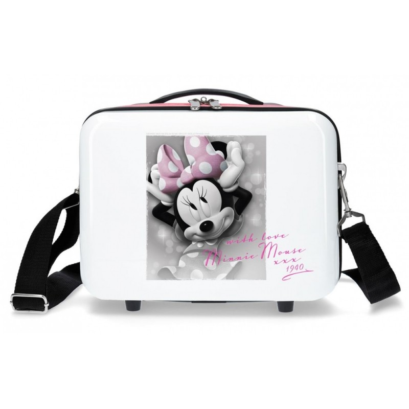 Neceser adaptable a trolley Minnie Style with love