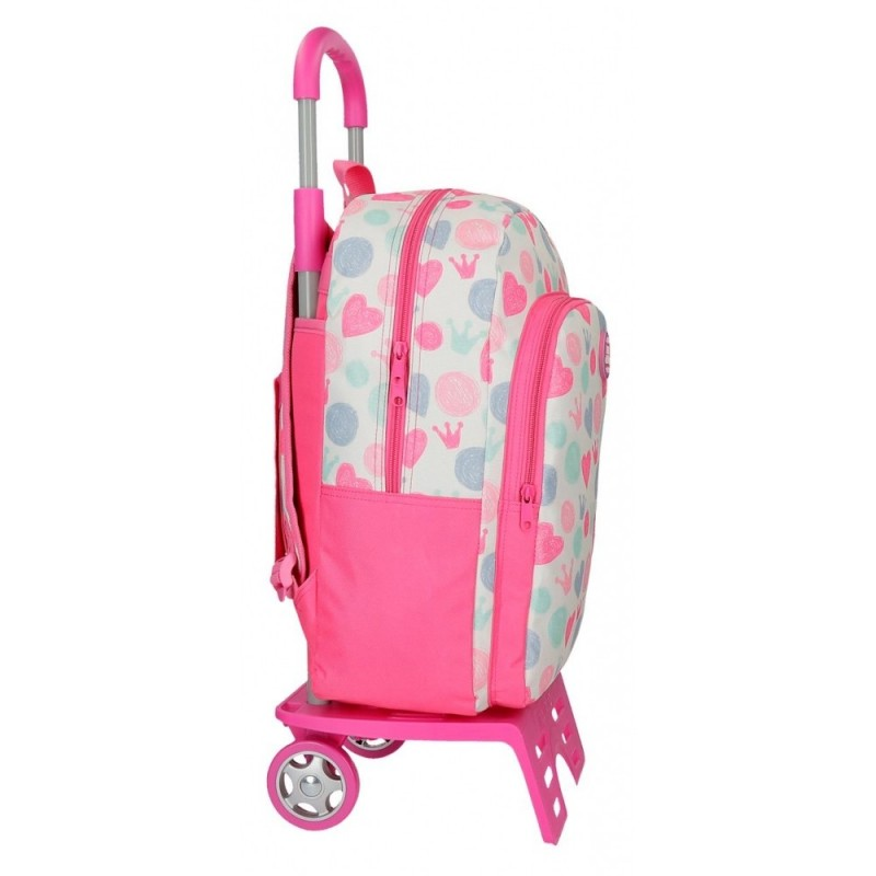 Mochila Escolar con Carro Roll Road Queen