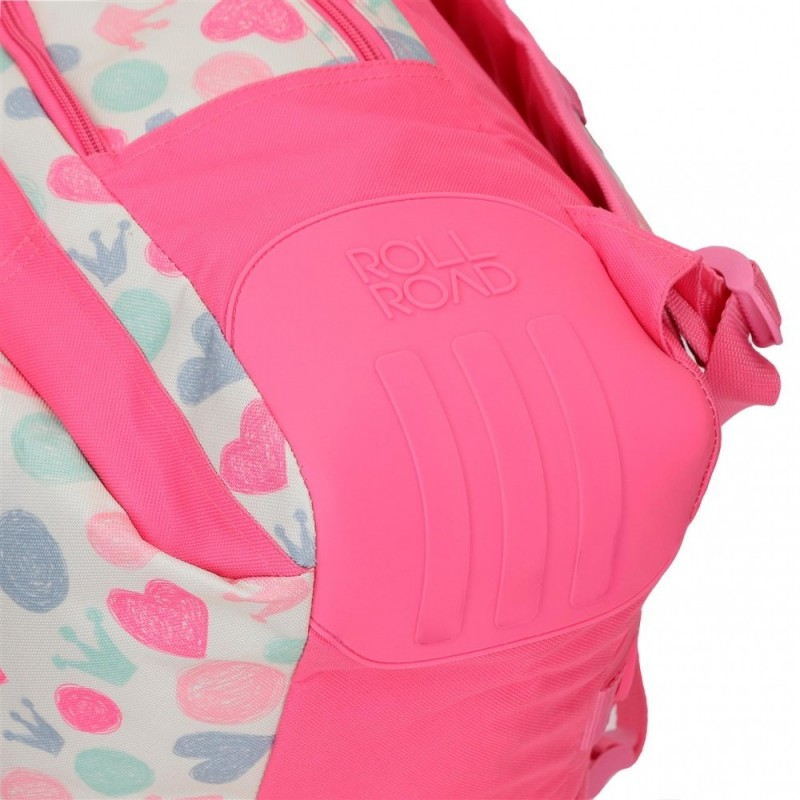 Mochila Doble Compartimento Roll Road Queen
