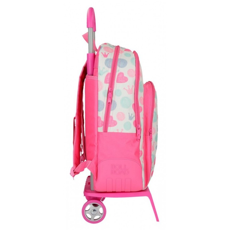 Mochila Doble Compartimento con carro Roll Road Queen