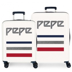 Maletas de viaje Pepe Jeans Taking off beige + Regalo