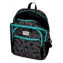 Mochila doble compartimento adaptable a carro Movom Leaves Verde