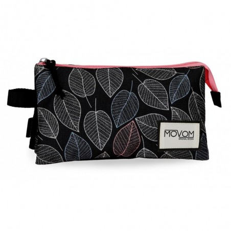 Estuche triple Movom Leaves Coral
