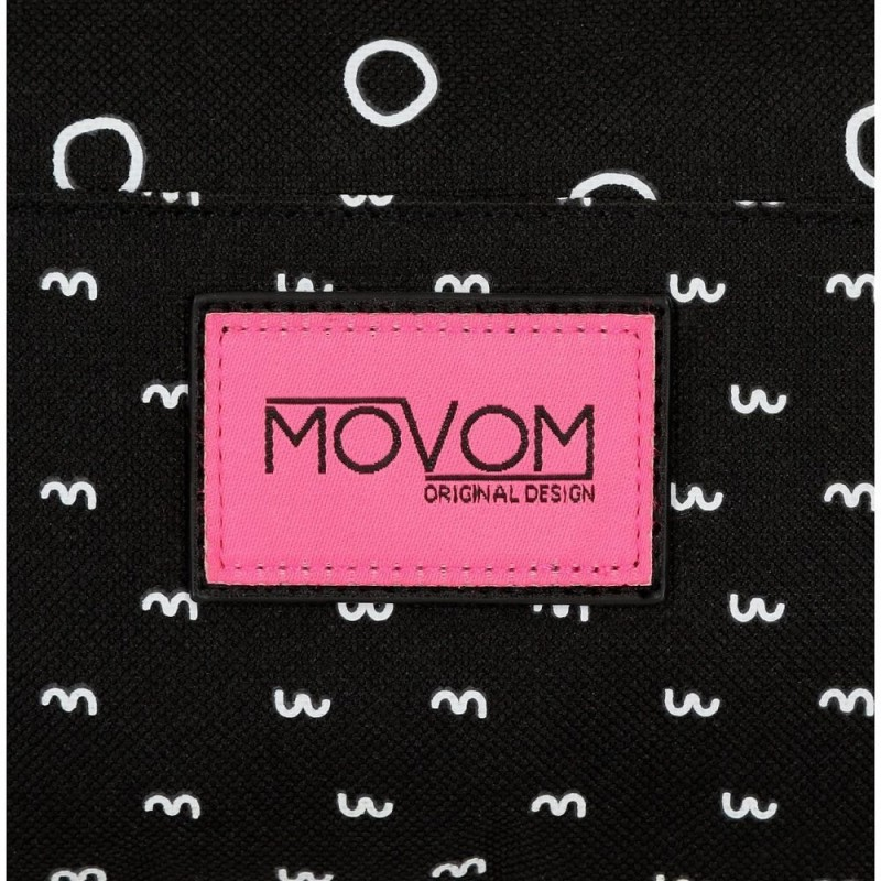 Mochila adaptable a carro Movom Bubbles Fucsia